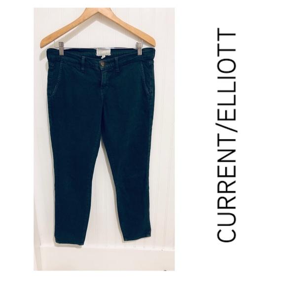 Current/Elliott Denim - Current/Elliot army green trouser Jeans 30
